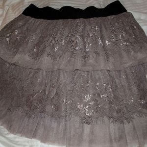 Dresses & Skirts - Purple Lace Skirt